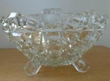 Bowl Clear Art Deco (1910-1939) Pressed Glass