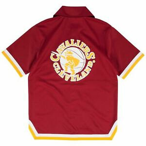 Mens Mitchell & Ness NBA Authentic Shooting Shirt Cleveland Cavaliers 1981