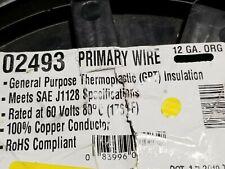 East Penn #12awg GPT PVC Automotive/Marine Primary Lead Wire 60V/80C Orange/50ft