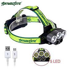 SKYWOLFEYE CRI XMLT6 5X lampe LED 32000 Lm projecteur Rechargeable USB chasse EH