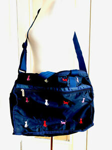 LE SPORTSAC Everyday Crossbody Shoulder Bag Purse Kitty Cat Meow