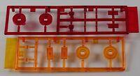Pocher 1:8 Glas Blinker Set am Spritzling Ferrari F40 Baugruppe G H K55 A6