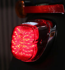 LED Red Lens Low Profile Taillight Softails Sportster Dyna Fatboy Harley fits mo