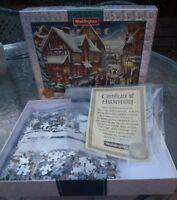 Waddingtons '97 Limited ED Jigsaw Puzzle The Night Before Christmas 2 Sided 1000