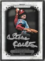 STEVE CARLTON 2014 Topps Museum Silver Framed Autograph Auto 01/10 Phillies