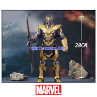 """Marvel Thanos Armor Avengers Legends Comic Heroes 8"""" Action Figure Toys In Stock"""