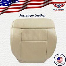 2005-2008 Ford F150 Lariat Passenger Bottom Leather Seat Cover Medium Pebble Tan