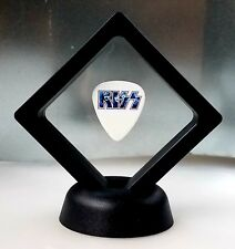 KISS GUITAR PICK DISPLAY FRAMED MUSIC ROCK BAND GIFT STANLEY SIMMONS ACE FREHLEY