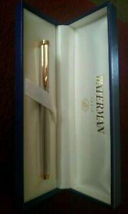 Waterman Gentleman Rollerball Pen  Sterling Silver Pinstripe Pen New In Box