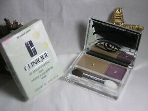 Clinique - All About Shadow Duo  – #18 Beach Plum - BRAND NEW & BOXED