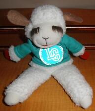 "vintage 1993 Shari Lewis Enterprises 10"" Lamb Chop Hand Puppet Full Body Plush"