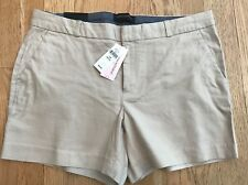 "Banana Republic Women's dress shorts, size 12P, Khaki/Tan NWT 4.5"" Inseam"