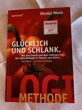 Buch Glücklich und schlank Nicolai Worm systemed Original Logi Methode Ernährung