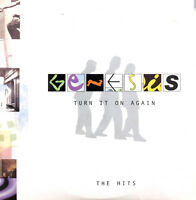 Genesis ‎CD Sampler Turn It On Again (The Hits) - Promo - Europe (EX/M)