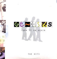 Genesis ‎CD Sampler Turn It On Again (The Hits) - Promo - Europe (VG+/EX)