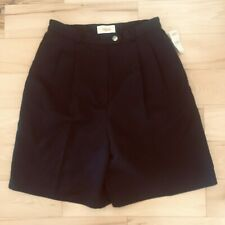 Talbots Women's Black Shorts New with Tags Size 4