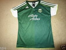Portland Timber MLS Soccer adidas Jersey Girls L 14 Large