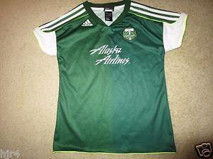 Portland Timber MLS Soccer adidas Jersey Girls L 14 Large