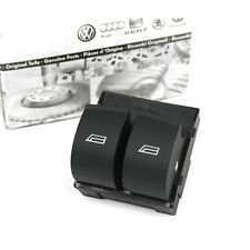 Original Audi Schalter 2-Fach Fensterheber links Fensterheberschalter schwarz