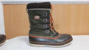 Womens Sorel WINTER CARNIVAL Warm Winter Boots - size 8 - VGC