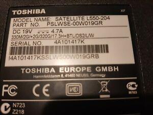 Toshiba Satellite L550-204