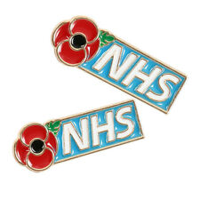 ❀❀NHS Enamel Poppy Badges Brooch Fashion 2020 Banquet Red Pin Costume Jewellery