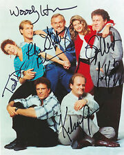 Cheers Cast #1  8 x 10 Autograph Reprint Ted Danson Woody Harrelson George Wendt