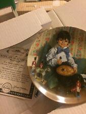 Little Jack Horner Mother Goose John Mcclelland Childhood Plate
