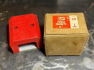 Vintage Eclipse 816 Horseshoe Power Magnet in original box