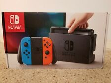 Nintendo Switch Neon Red/Neon Blue 32GB System New in Box