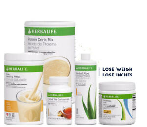 HERBALIFE FORMULA 1 SHAKE MIX, PROTEIN SHAKE, ALOE CONCENTRATE , AND PROLESA