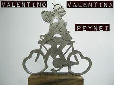 Valentino E Valentina R. Peynet BICI FIDANZATINI INNAMORATI VINTAGE ORIGINALE