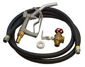 Gravity feed Diesel/Bio kit::Locking hose,fuel delivery