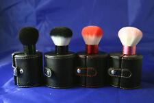 Makeup Brush Kabuki w/case - Anti-bacterial Vegan