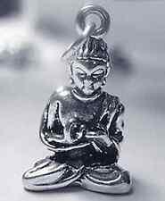 LOOK Buddah Silver buddhist Buddha Pendant Charm Jewelry