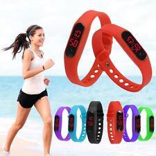 Fashion Boy Girls Kids Silicone Rubber Band Led Digital Sport Quartz Wrist Watch