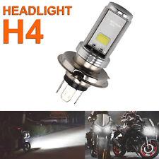 Motorcycle Cool H4 White Headlight 3030 6500K LED Hi-Lo Beam Light Lamp Bulb