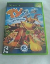 TY The Tasmanian Tiger 2: Bush Rescue (Microsoft Xbox, 2004) with manual