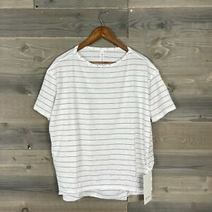 NWT Lululemon Womens Stripped Back In Action SS Active Top Shirt Sz 8