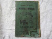 Massey Harris pacemaker challenger service manual
