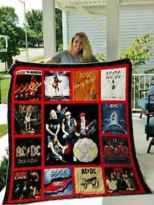 ACDC 45th Anniversary Quilt, Fleece Blanket