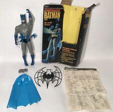 "Ultra Rare Remco Energized Batman 12"" Climbing Figure 1979 Complete Box Works"
