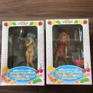 Sega Evangelion EX Figure Fruits Punch feat. Okama Whole set Collection