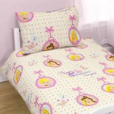 Disney Princess Locket Duvet Cover Set, Suitable for Junior, Toddler or Cot Bed