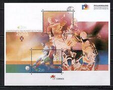 WORLD SOCCER CHAMPIONSHIP ON PORTUGAL 2002 Scott 2506 SOUVENIR SHEET, MNH