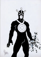 Havok original art pinup by Rodrigo Costa