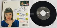 "Suzanne Vega - Tom'S Diner Japan 7"" Lyrics Insert"