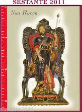 596 SANTINO HOLY CARD CARTOLINA S. SAN ROCCO PROTETTORE DI FERRANDINA MT