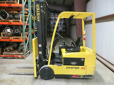 2007 HYSTER 35 J35ZT FORKLIFT TRUCK LIFT 3500 LB 36V ELECTRIC ONLY 533 HOURS
