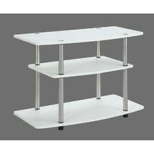 Convenience Concepts Designs2Go 3 Tier TV Stand, White - 131020W